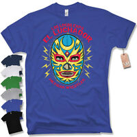 T-Shirt - MEXICAN WRESTLER- Wrestling Oldschool Trash MMA Fight man S M L XL XXL
