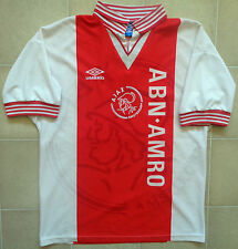 Authentic Umbro Ajax 95/96 Home Jersey. Mens S, Great Condition.