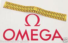 Omega pulsera-doradas - 18mm bandanstoss-pulsera de los años 1970er