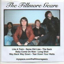 (O606) The Fillmore Gears, Like A Train - DJ CD