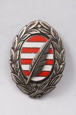 Hungary Hungarian Republic Military Staff Academy Badge Medal School Academy