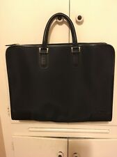 Paul Smith  Black Nylon with Leather trim  BRIEFCASE