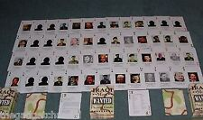 IRAQ IRAQI WAR COLLECTABLE AMERICAN ARMY PLAYING CARDS SADDAM HUSSEIN GIFT