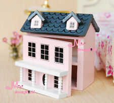 1/12 Dollhouse Miniature KIDS TOY Pink Dollhouse OT51