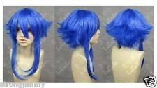 NEW WIGS Vocaloid Gumi Long Cosplay Party Blue Wig STR43
