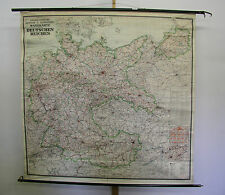 Bella Kontor Muro Mappa Grande Germania 1938 175x173 greater GERMANY VINTAGE MAP