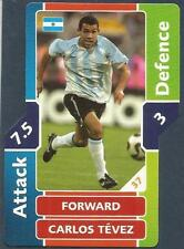 TOPPS MATCH ATTAX WORLD CUP 2006- #037-ARGENTINA-CARLOS TEVEZ