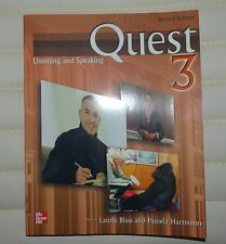 Quest 3: Listening and Speaking (2nd Edition) by Blass, Laurie/ Hartmann, Pam...