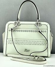 NWT Handbag GUESS Disco Doll Satchel Stone Multi Bag Ladies