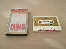 VERY RARE ZANAC COMPILE SHOOT MSX TAPE K7 EUROPEAN VERSION COMPLETE IN BOX