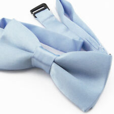 Noeud Papillon Enfant Réglable Bleu ciel - Children Bow Tie Adjustable Sky Bleu