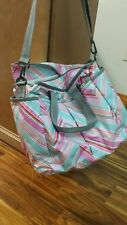 RYAN BABY BAG LESPORTSAC PINK MULTI COLOR TOTE BAG $168 *FREE SHIPPING*
