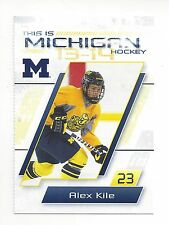 2013-14 Michigan Wolverines Alex Kile (Rochester Americans)