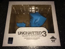 UNCHARTED 3 Limited Edition VINYL FIGURES SCARECROW PS3 PS4 CIB NM BLUE COLOR