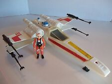 Star Wars Vintage X-Wing Fighter,Working Light and Sound, with Luke Pilot