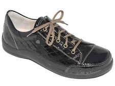 FINN COMFORT Women's Shoe Soho -Griffin Black Patent- 37 (US 6-6.5) NEW