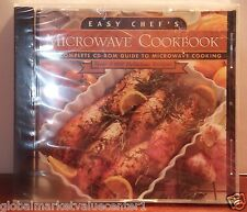 Easy Chef's Microwave Cookbook The Complet CD-Rom Guide 5,000 Delicious Recipes