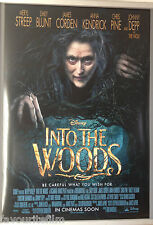 Cinema Poster: INTO THE WOODS 2015 (One Sheet) Anna Kendrick Meryl Streep