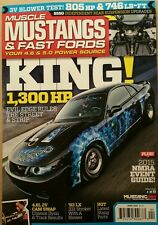 Muscle Mustangs & Fast Fords King 1300 HP 2015 NMRA Guide Apr 2015 FREE SHIPPING