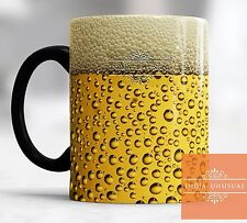 Beer design Magic color changing Coffee Mug Tea Cup Best gift for Christmas Year