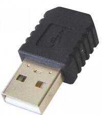 TRANSMEDIA USB ADAPTER TYP A STECKER AN 5 POL MINI KUPPLUNG