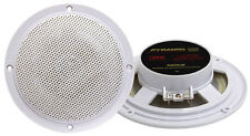 """Pyramid Mdc6 5.25"""" Marine 100 Watts Dual Cone Waterproof Stereo Speakers (pairs)"""