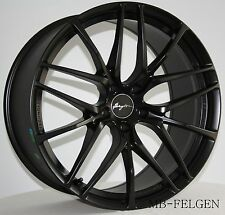 Breyton Fascinate Matt Black Felgen 8,5 und 9,5x19 Zoll BMW 1er 2er 3er 4er