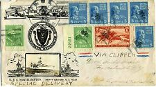 1940 Air Mail China Clipper Flight Honolulu-Forestville, NY FAM-14, Crosby cover