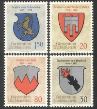 Liechtenstein 1965 coat-of-arms/héraldique/chèvre/animaux 4v set (n39575)