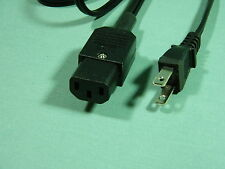 Quad 33 (2 pin) to 405 FM4 Mains Lead  (3 pin IEC)   1M  NO EARTH