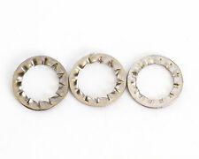 4mm M4 A2 STAINLESS INTERNAL SERRATED SHAKEPROOF WASHERS LOCK WASHER 100 PACK