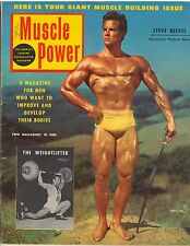 Muscle Power Bodybuilding Fitness Magazine Steve Reeves Mr America 5-54