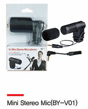 The VJ Mini Stereo Microphone for cell phones from photosolve