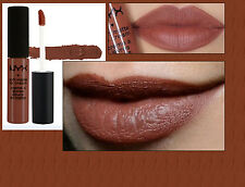 NYX - SOFT MATTE LIP CREAM LIQUID LIPSTICK - BERLIN - MID WARM RICH BROWN