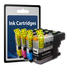 4 Ink Cartridge for Brother LC223 MFC-J4625DW MFC-J5320DW MFC-J5620DW C