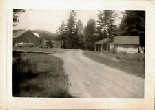 Antique Vintage Photograph Gorgeous Country Houses on Old Country Road