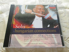 GEORG SOLTI - CHICAGO SYMPHONY ORCHESTRA - HUNGARIAN CONNECTIONS - 1994 DECCA