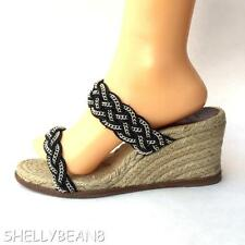 CHRISTIAN LOUBOUTIN Wedges SANDALS Heels Espadrilles 40 10 9.5 CHAIN Strap CHiC!