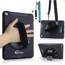 Apple iPad Mini 1 2 3  Case Drop-Proof Kickstand Hand / Shoulder Strap Cover