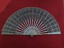 Antique - Victorian - Bone Folding Hand Fan Collection - 1900s