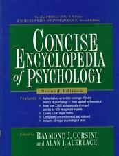 Concise Encyclopedia of Psychology (2nd Edition)