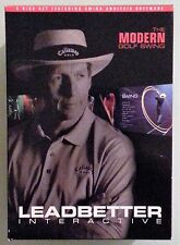 david leadbetter interactive MODERN GOLF SWING   DVD / DVD ROM windows xp vista