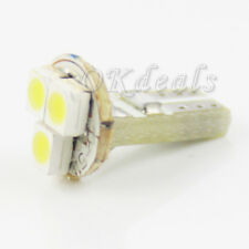10PCS T5 12V 1W 80lm 3-1210 SMD LED Auto Lampe Signallampe Innenbeleuchtung Weiß