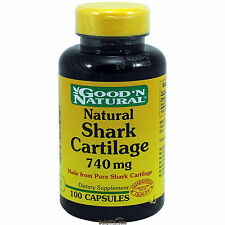 GNN Shark Cartilage 740 mg 100 Capsules (freeze dried)