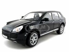 PORSCHE CAYENNE TURBO BLACK 1:18 DIECAST CAR MODEL CAR BY WELLY 12529