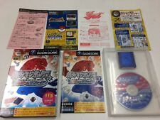 Nintendo Game Cube Pokemon Box Ruby and Sapphire JAPAN JP w/Memory Card. z212
