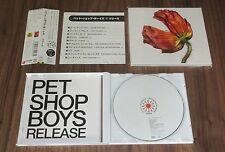 PET SHOP BOYS Japan PROMO CD Release LIMITED EDITION with OBI complete RELEASE