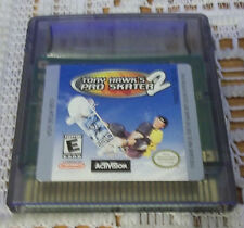 Tony Hawk's Pro Skater 2  (Nintendo Game Boy Color, 2000)