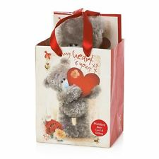 Me to You - Love Plush Bear, Card & Gift Bag Set - Tatty Teddy