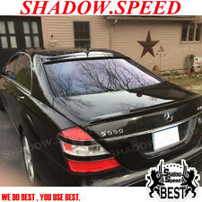 Painted Rear OE Roof + A Trunk Spoiler For Mercedes Benz S-class W221 Sedan ✩